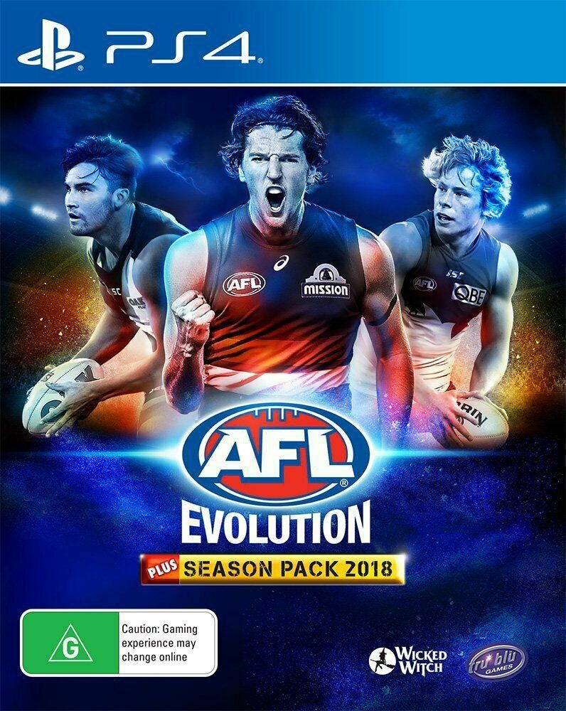 Afl evolution season pack 2018 australian sports game