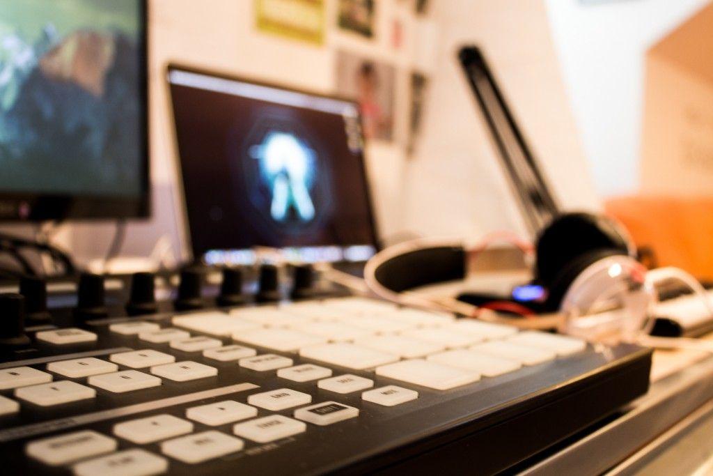 Fake Plastic Heads - studio // #Maschine