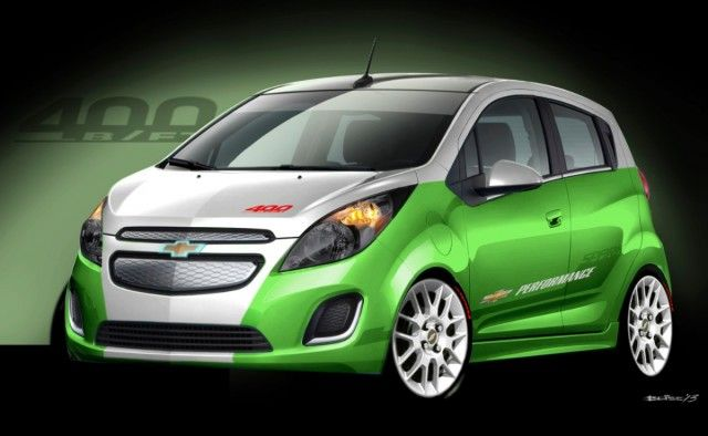 Hot Rod Chevy Spark Ev Unveiled For Sema Performance Show