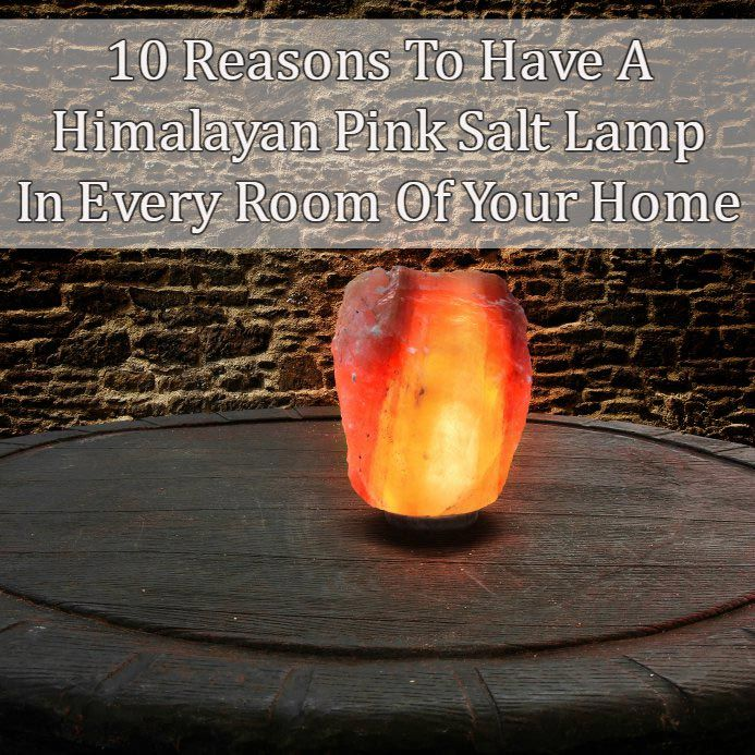 Genuine Himalayan Salt Lamp Entrancing 10 Reasons To Have A Himalayan Salt Lamp In Every Room Of Your Home Inspiration