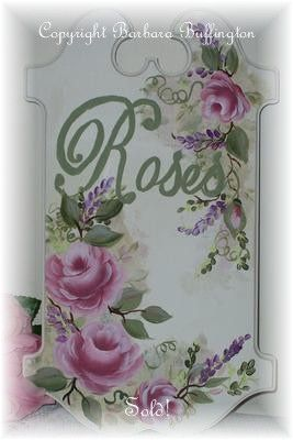 Hand Painted Sign Decorative Paintings Donna Dewberry And Wooden