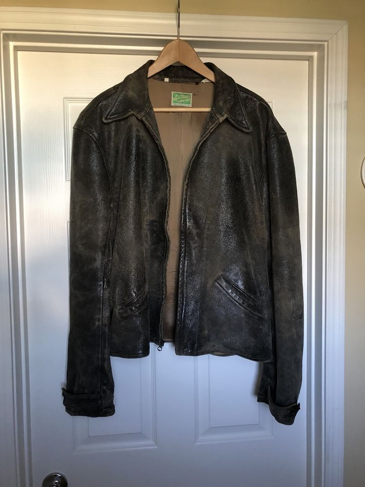 Levi S Vintage Clothing Lvc Menlo Skyfall Leather Jacket Large Ebay Link Clothes Vintage Outfits Levis Vintage Clothing