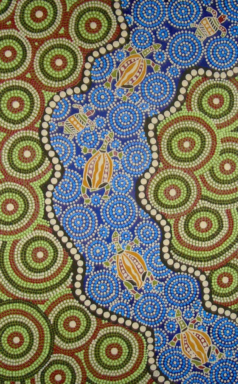 Aborigines Malerei