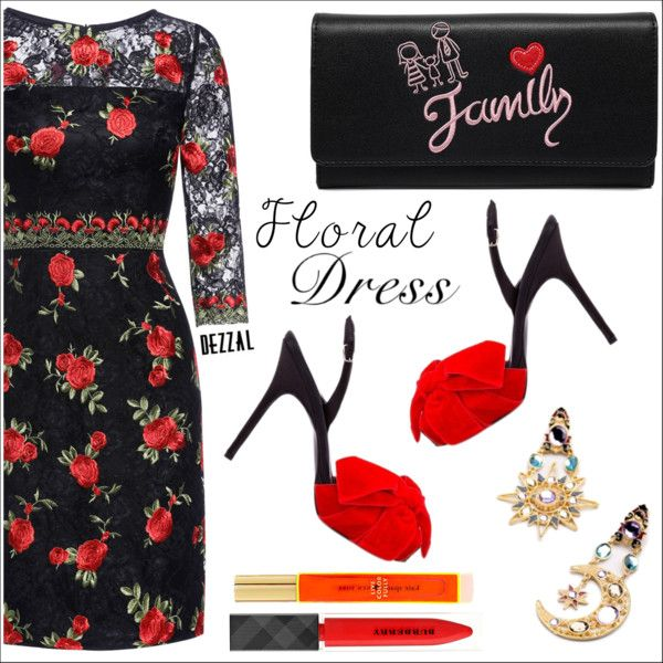 Dezzal Floral Dress Outfit Idea 2017