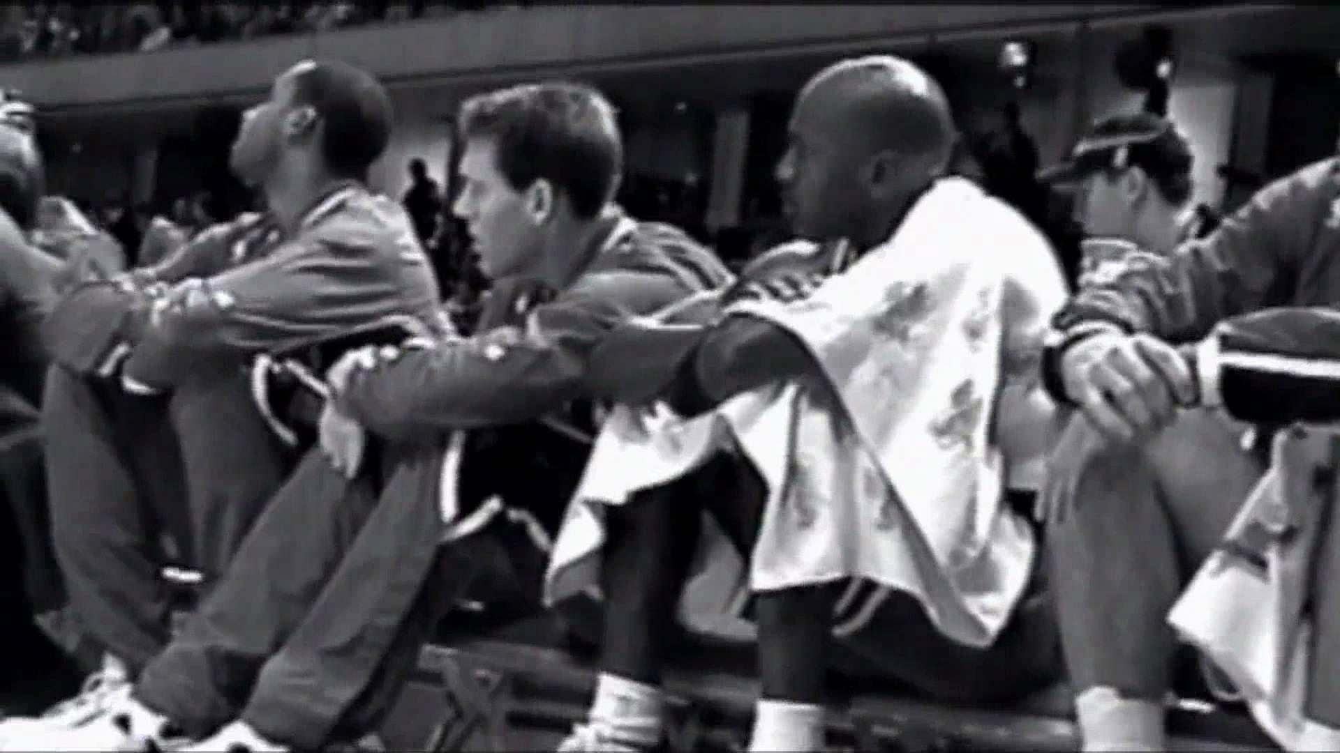 Never Before Seen Jordan Footage From 95 Meeting Michael Jordan 1995 Documentary Now Michael Jordan Michael Jordan Unc