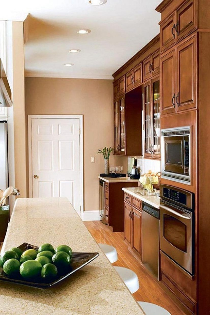 kitchen paint colors with light wood that bring