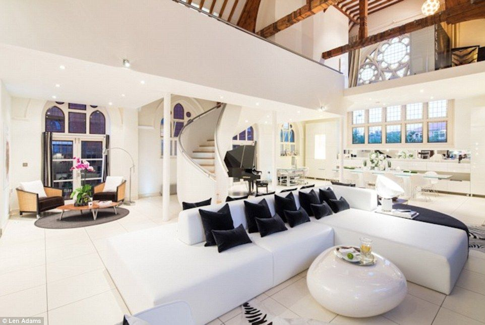 19th century church converted into luxurious home by interior ...
