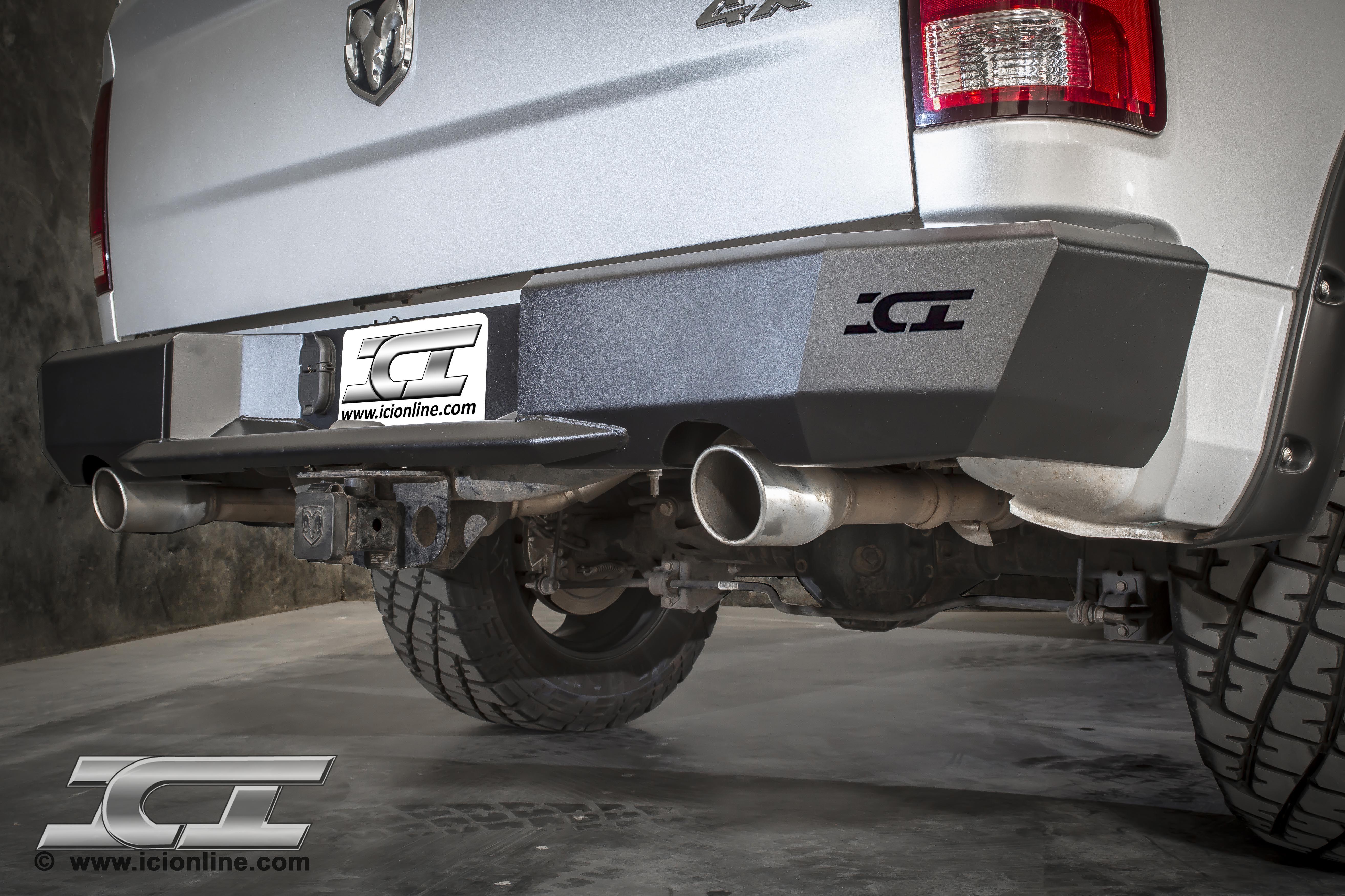 Rear Magnum Bumper for 20092014 Dodge Ram 1500 (Sport and