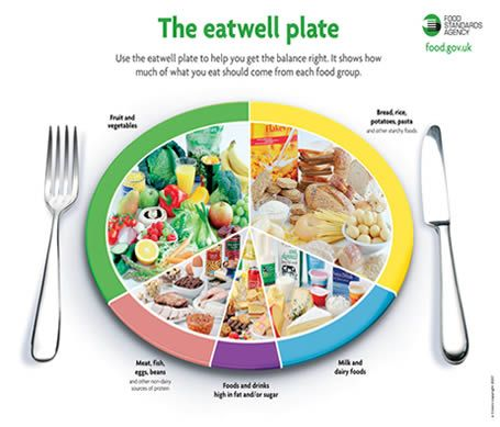 Children's eatwell plate. | NUTRITION EDUCATION ...