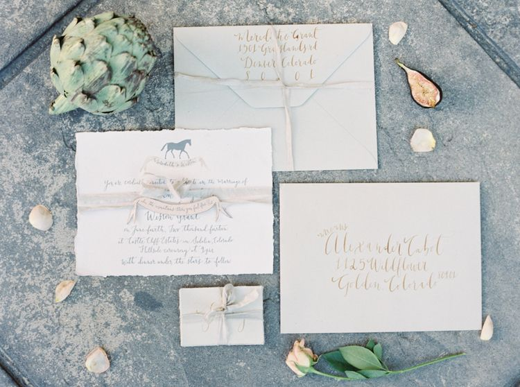 Invitation Suite, Signoremare, Katie Grant Photography