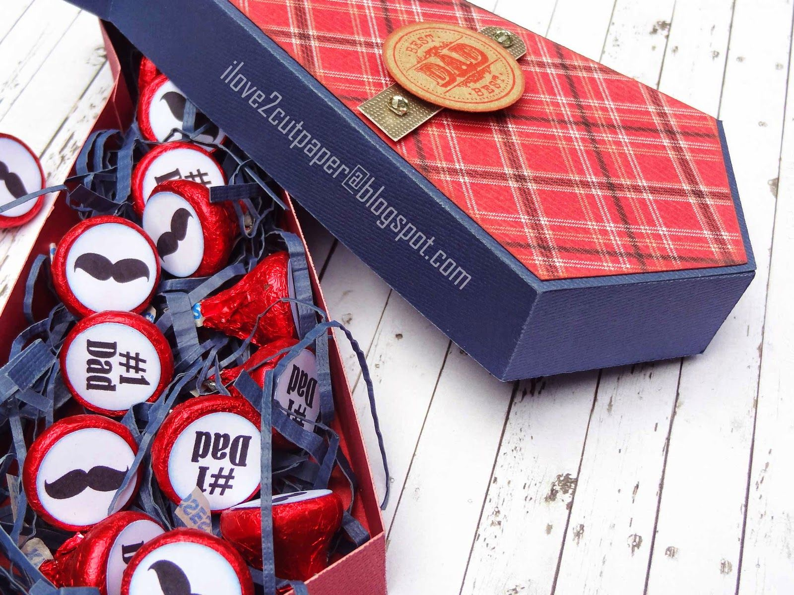 Tie-riffic Dad Gift Box - cutting file in wpc and svg file format ...