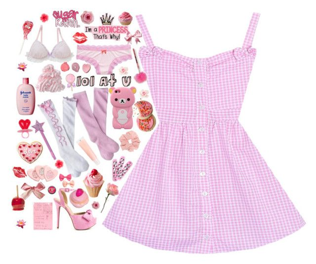 """""""♡BIG ANNOUNCEMENT♡ plz read description"""" by suzyloves17 ❤ liked on Polyvore featuring Aerie, Circo, J.Crew, JustFabulous, Etude House, Hello Kitty and H&M"""
