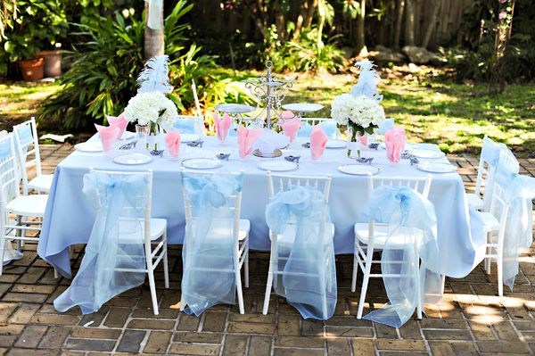 """Cinderella theme with both """"peasant"""" and """"princess"""" parts.  Girls wear aprons and hankie hair wraps.  The activities are """"chores"""" and then they get """"transformed"""" into a dresses to enjoy a tea where a princess comes and teaches them table manners.  So cute!"""