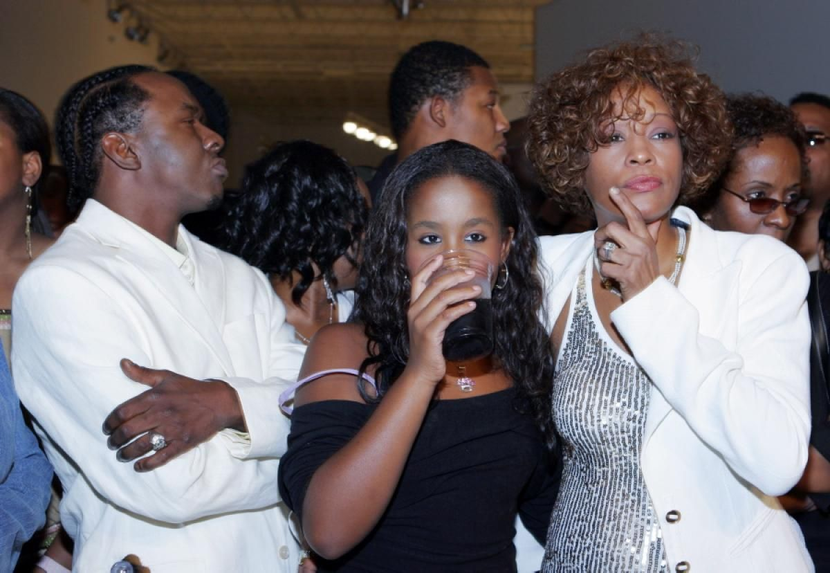 Brown recent bobbi pictures kristina of
