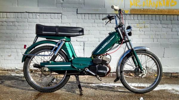 Garelli VIP 2 Speed | Detroit Moped Works: Vintage two ...