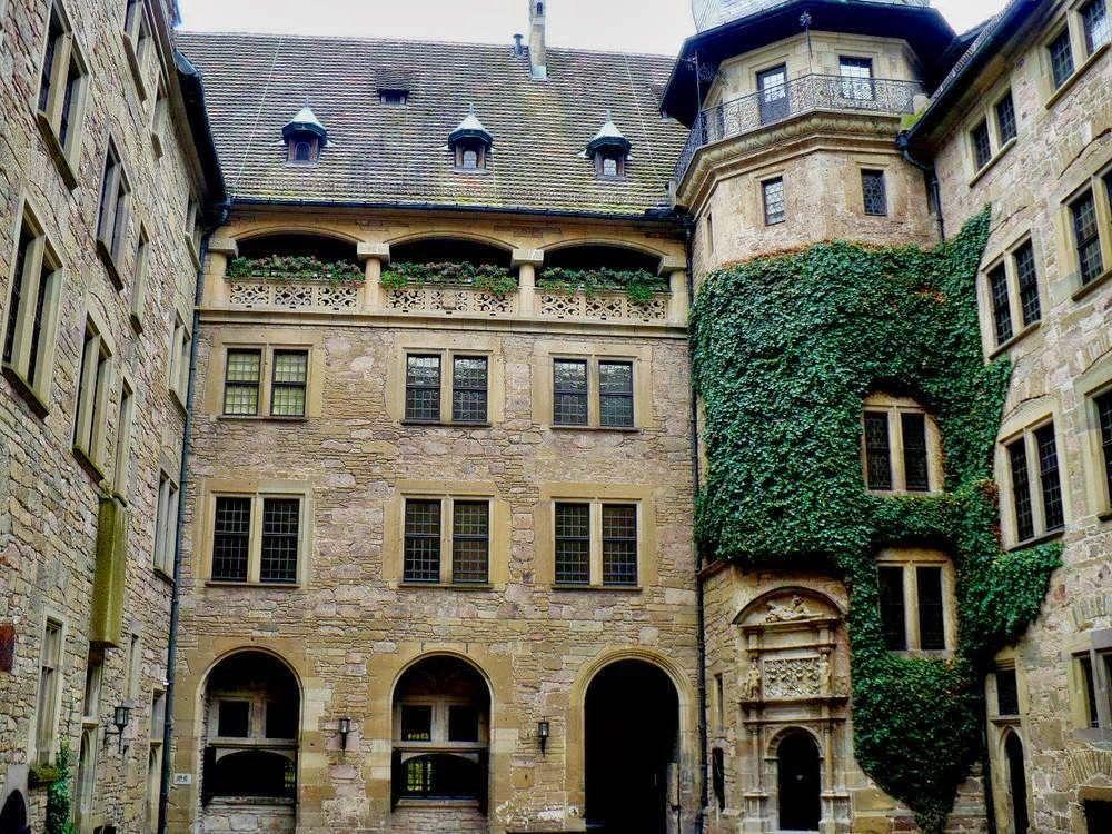 Residencias Historicas.: Castillo de Neuenstein