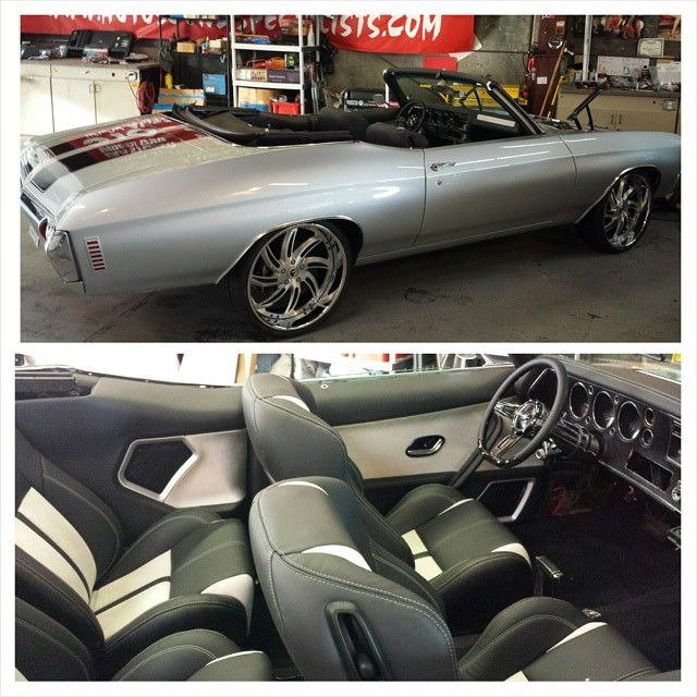 72 Drop Chevelle From DJ Designs, Custom Interior Door