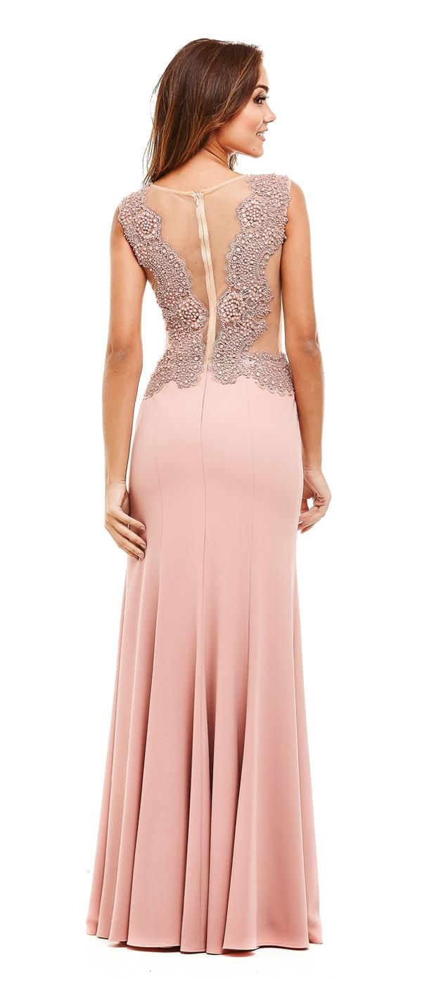 Vestido com Bordado Ara | Vestidos, Gowns and Prom