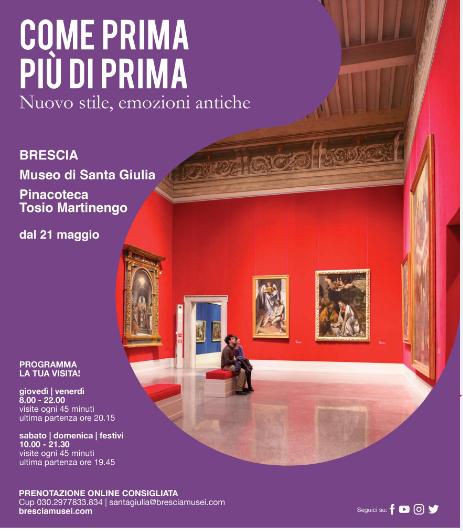 Calendario Brescia Cup 2021 Fondazione Brescia Musei riparte con rinnovato entusiasmo e