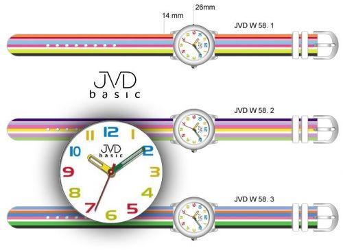 Náramkové hodinky JVD basic W58.1 - Dekorácie do bytu  da713b3b146