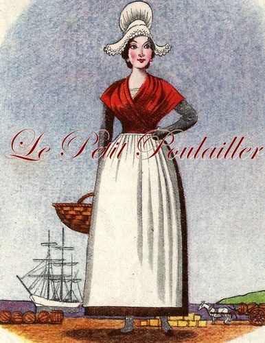 1948 French Provincial Folk Costumes and Maps ... in my shop now!