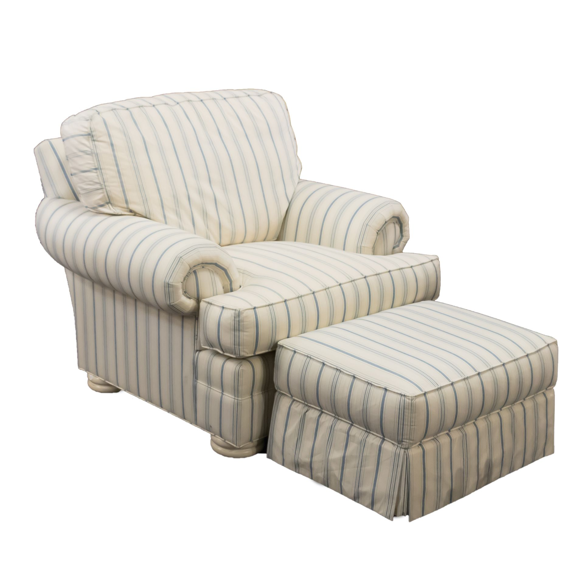 Thomasville Presents This Large Armchair With Matching