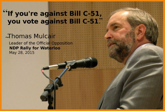 Who Voted for C-51… Is my math right?