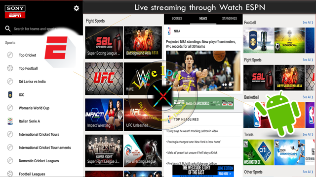 Live Iptv X Espn Basketball Video Games Baseball Live