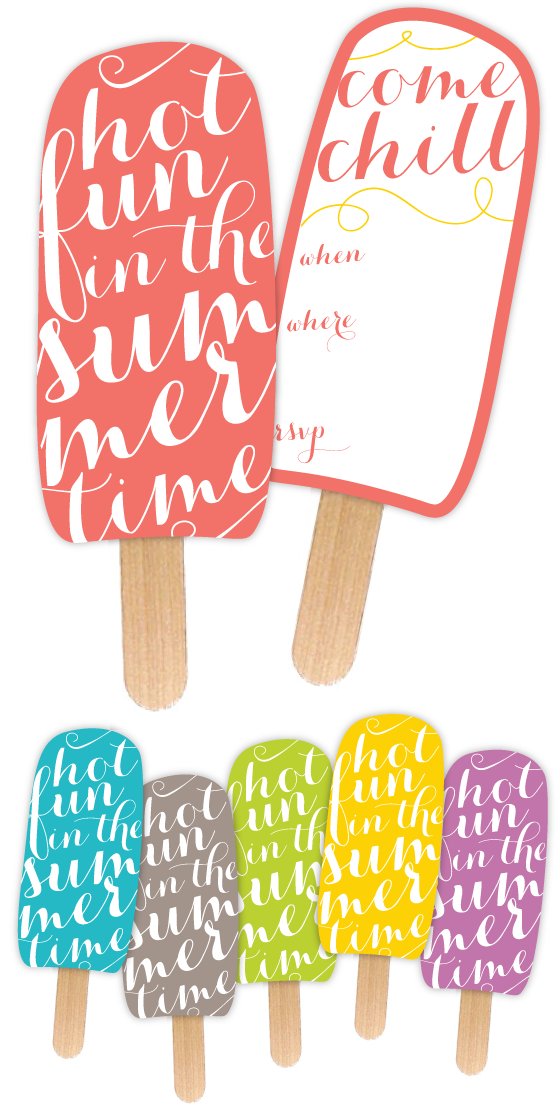 9 Ways to Have Fun With Popsicles Without a Single Drip – Printable Party Invitations Free