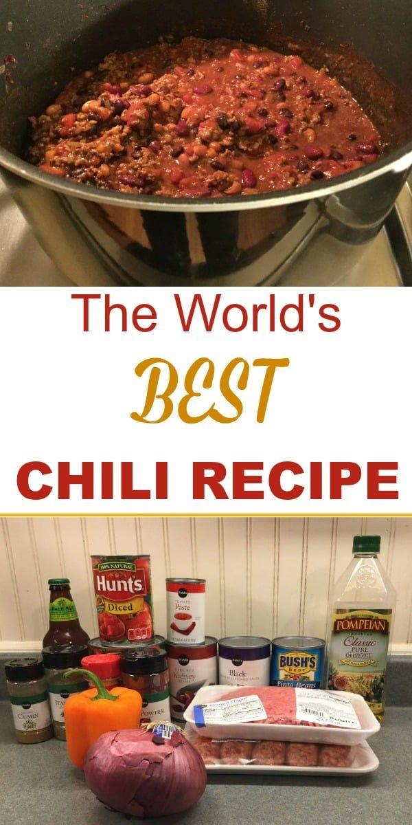 Jamie Deen's Award-Winning Chili Recipe with Beer