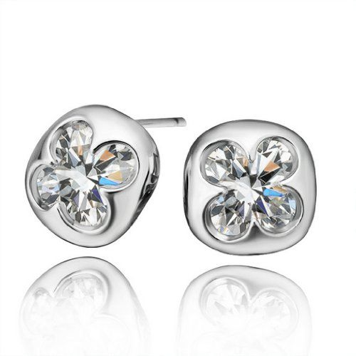 Virgin Shine Platinum Plated Rhinestones Flower Square Earrings VIRGIN SHINE http://www.amazon.co.uk/dp/B00J421PD6/ref=cm_sw_r_pi_dp_AQWIub0CEC95D