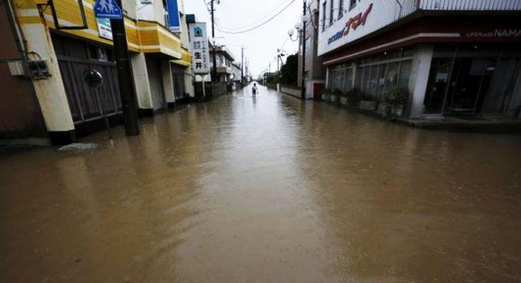 Flood in Japan.mna.com.bd