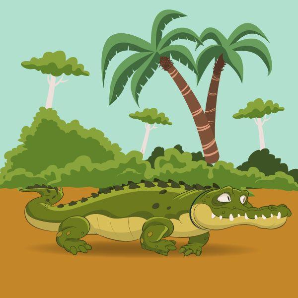 Cocodrilo Yamusukro #Supertics Ilustraciones para niños | Bongos y ...