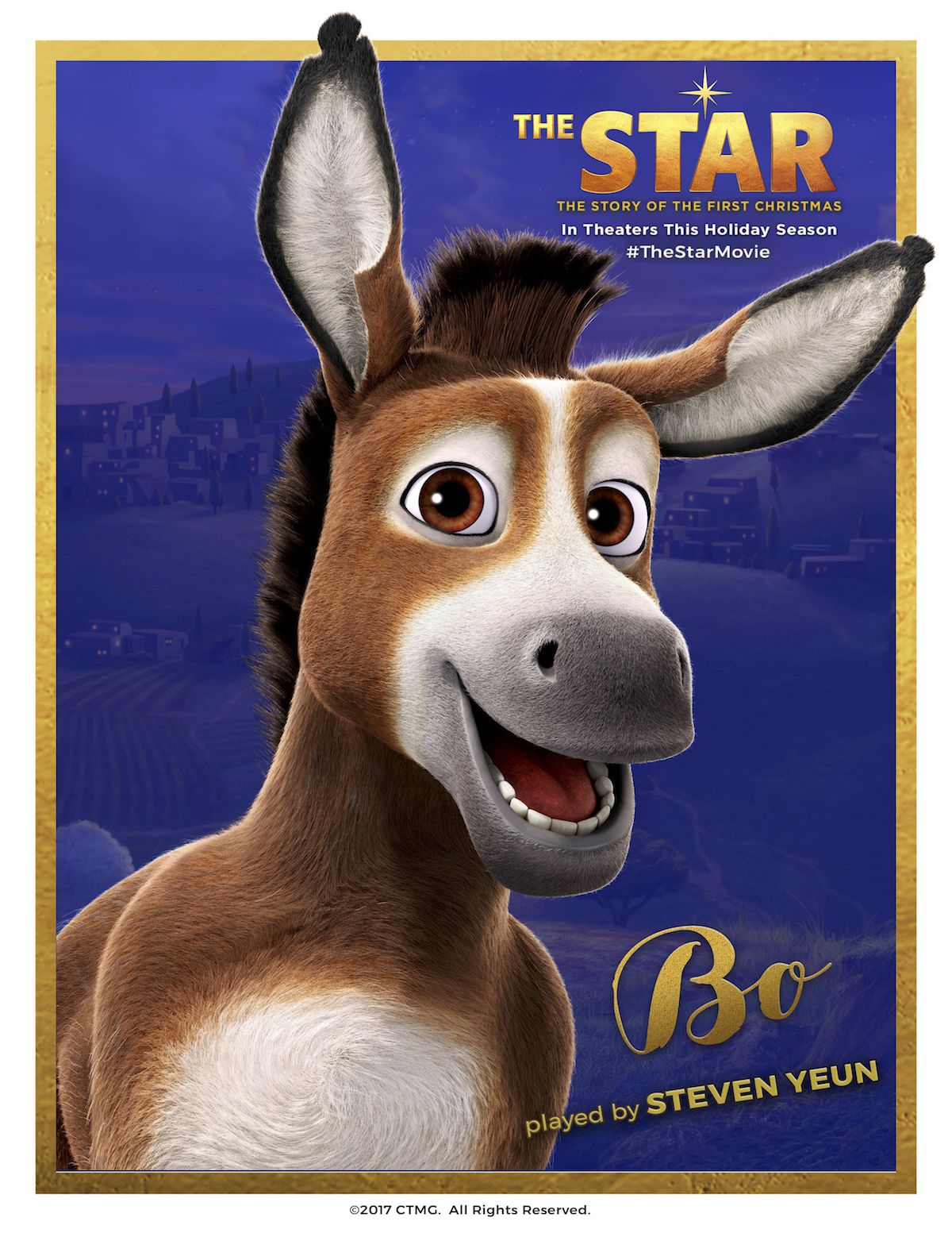 Meet Bo! This holiday season, witness The Star, the story