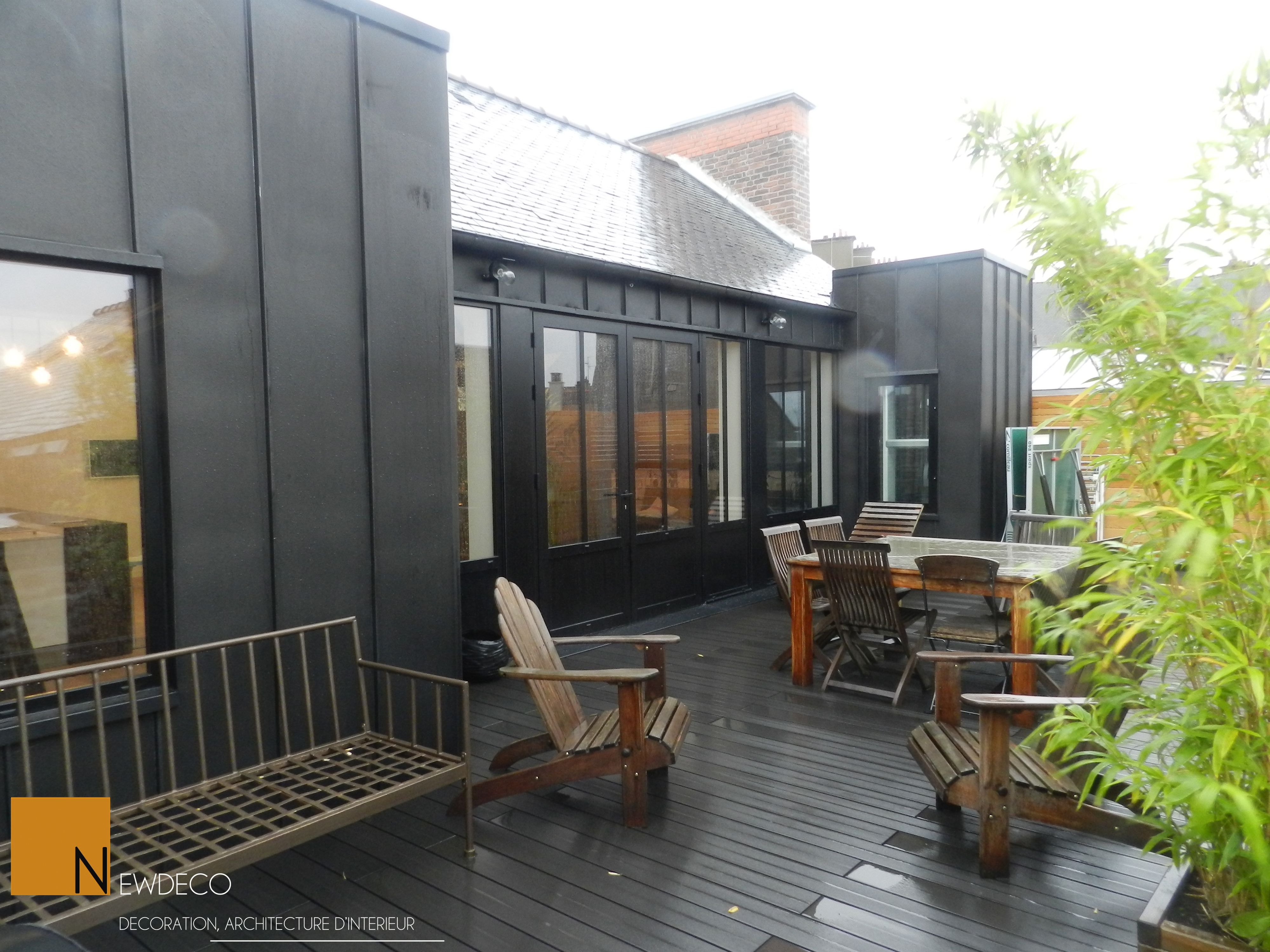 am nagement terrasse terrasse appartement terrasse. Black Bedroom Furniture Sets. Home Design Ideas