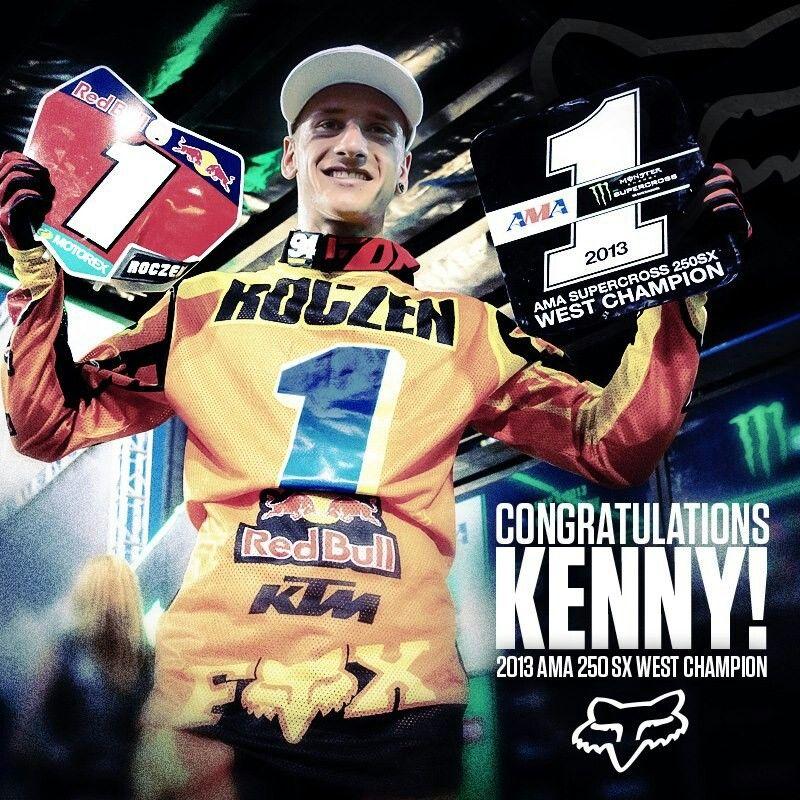 Ken Roczen the Champion!