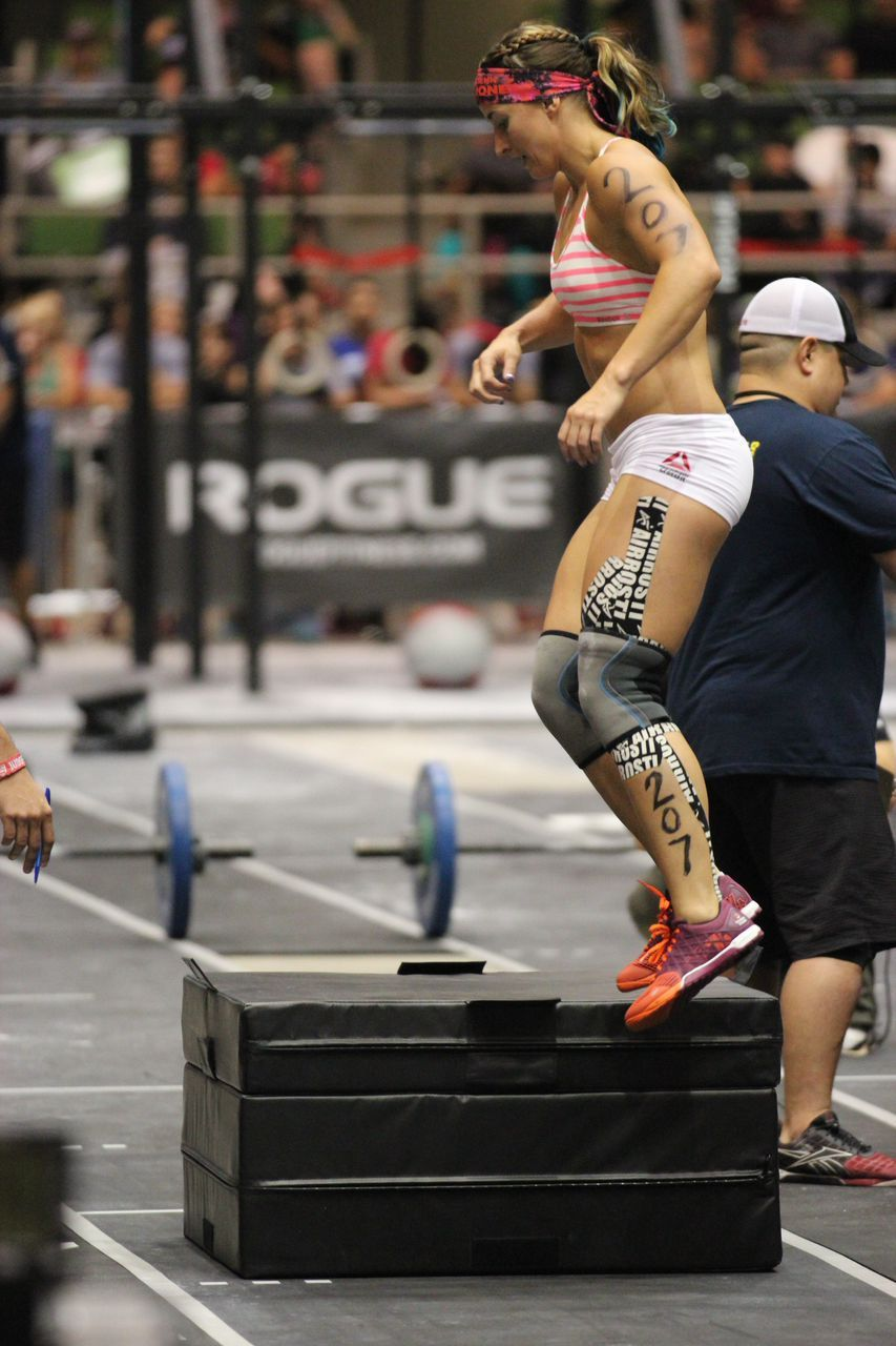 Box Jumps 2014 CrossFit Games South Central Regionals