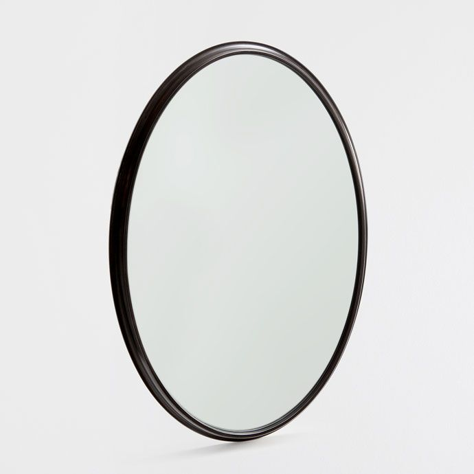 BLACK OVAL MIRROR - Mirrors - Decoration | Zara Home ...