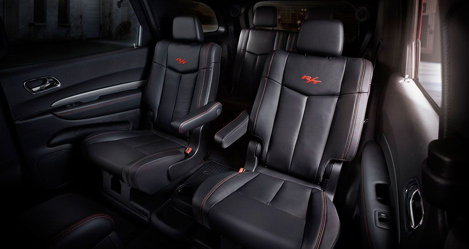 2014 Dodge Durango R/T With Available Second Row Fold And Tumble  Leather Trimmed Captainu0027s Chairs That Recline Up To 12 Degrees.