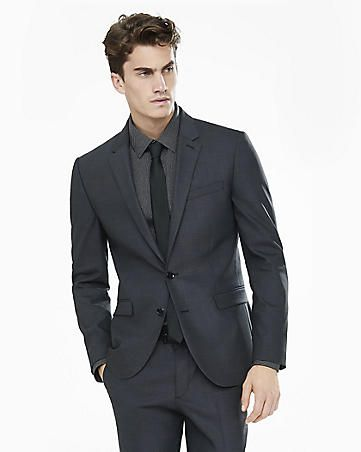 express view · dark gray end-on-end innovator suit jacket ...