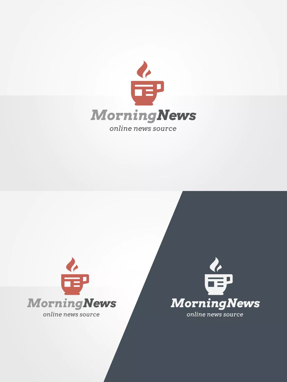News Logo Template EPS, PSD | Logo Templates | Pinterest | Logo ...