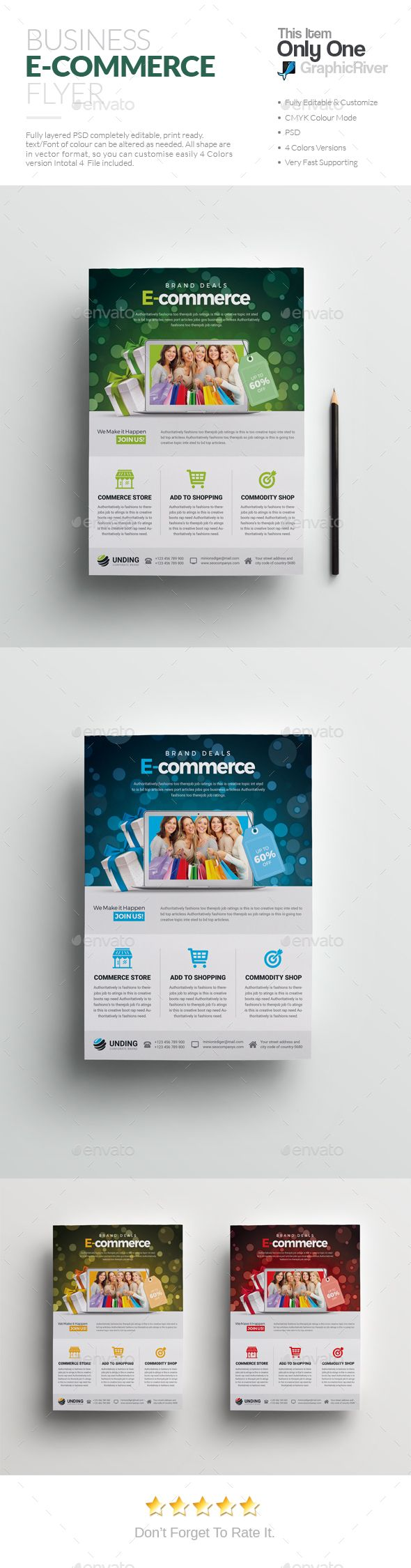 information flyers template