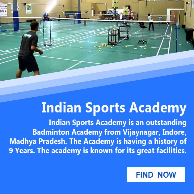 Still Looking For The Best Badminton Academy In Indore End Your Search Now Just Visit Khelkit Com And Find Your Desired Acade Sports Coach Academy Badminton