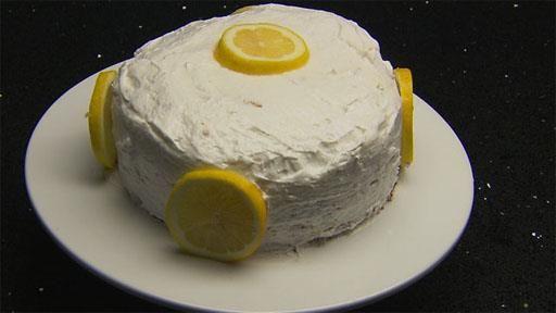 Sponge Cake Recipe Lemon Curd: Layered Victoria Sandwich Sponge Cake With Lemon Curd And