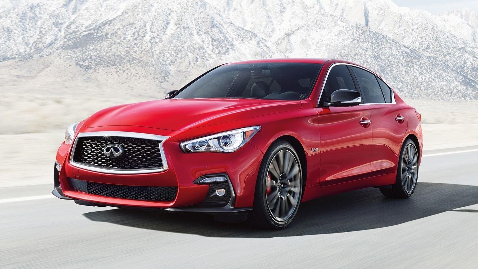 2020 Infiniti Q50 Red Sport Specs di 2020