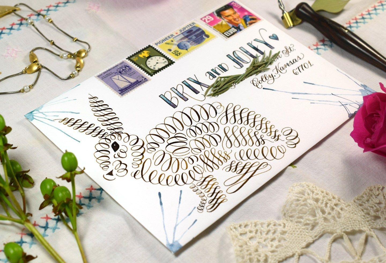 12 Artistic Envelope Ideas