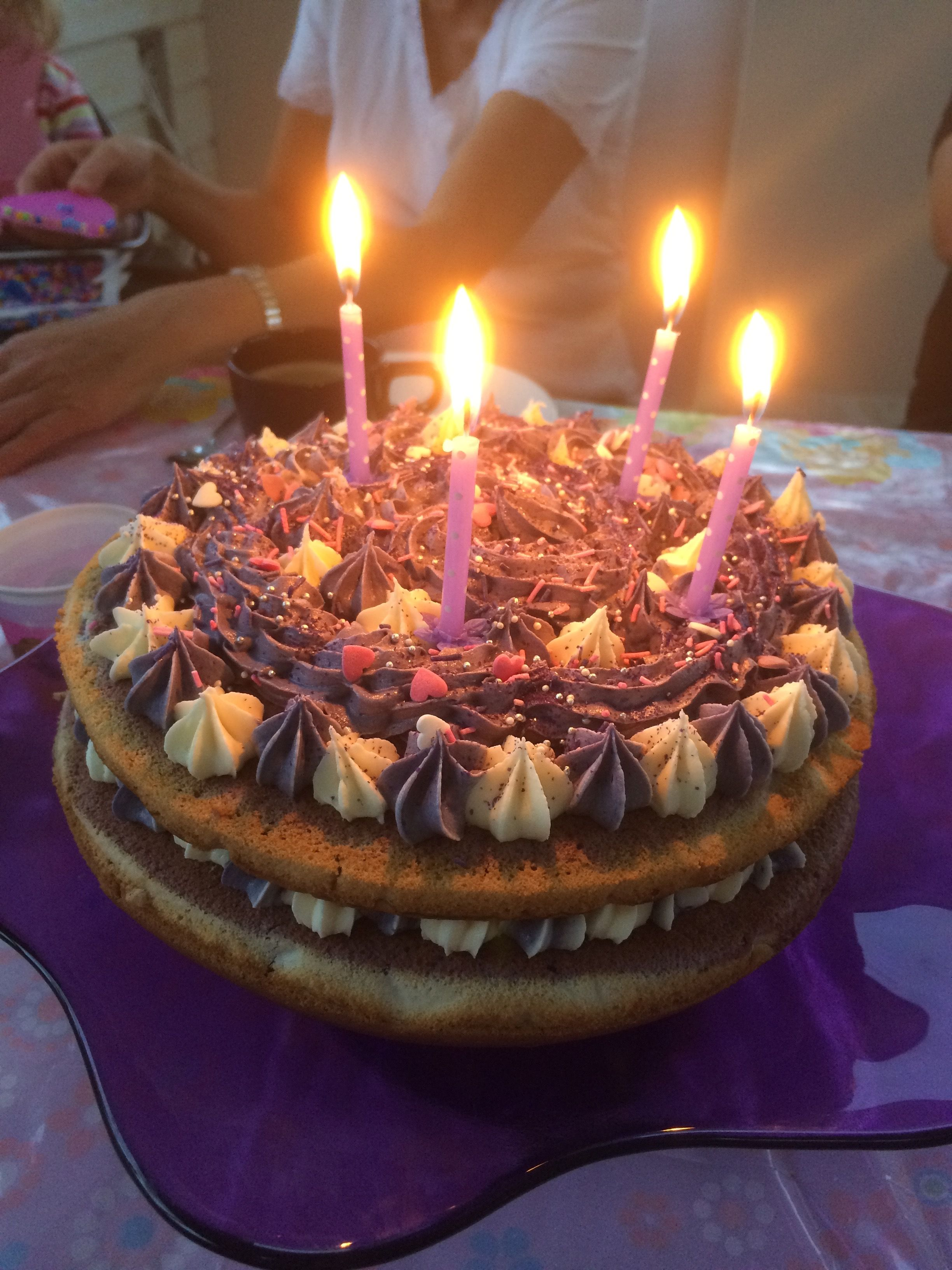 Matilda's 4th birthday cake 1 4th birthday cakes
