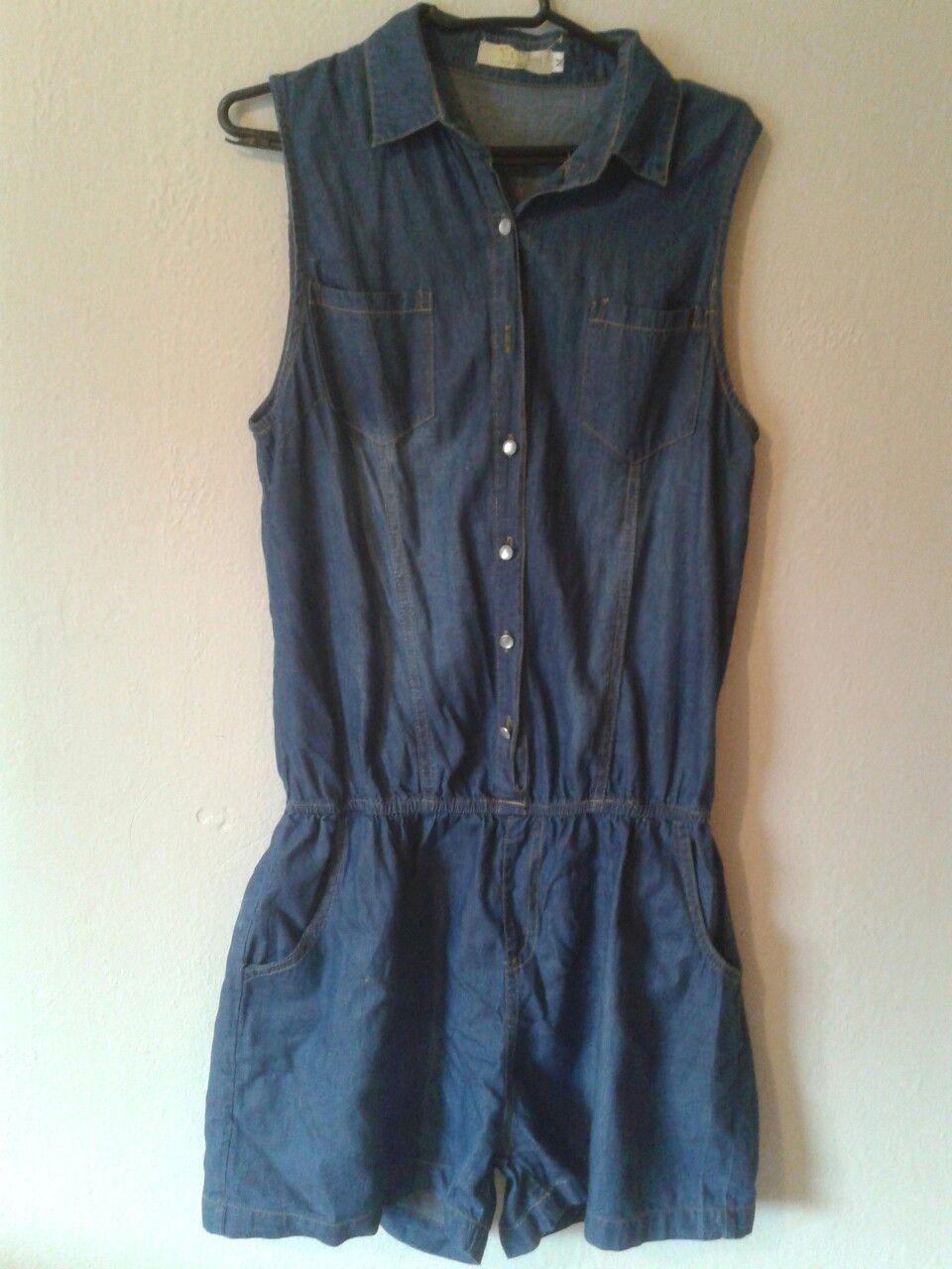 Macacão jeans super confortável e fresco para dias ensolarados e quentes! #modafeminina #macacão