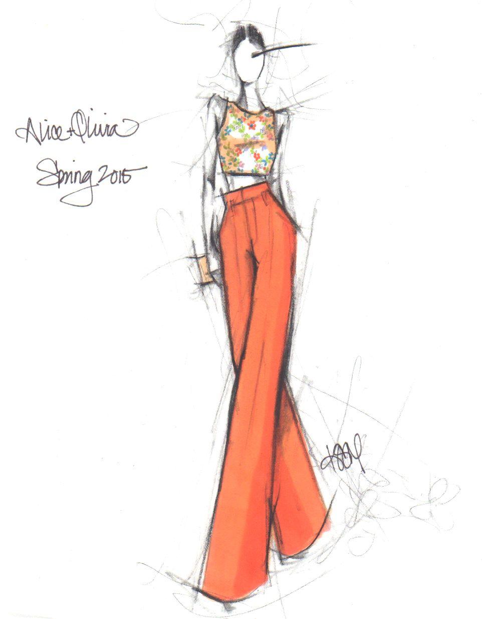 Fashion sketches new fashion sketches - Fashion Illustrations 2015