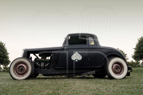 Rat Rod Ace of Spades Car  #ace #blackace #aceofspades